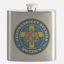 Swedish Medallion Flask