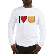 I Love Scotch Long Sleeve T-Shirt