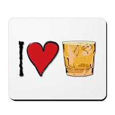 I Love Scotch Mousepad