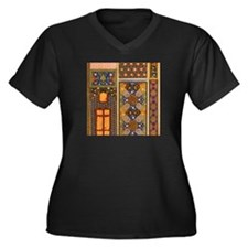Abstract Arabian patterns Plus Size T-Shirt