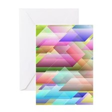 Blurred vision Greeting Cards