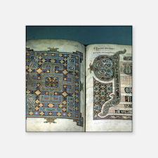 "C. 698 AD. Noorthumbrain sc Square Sticker 3"" x 3"""
