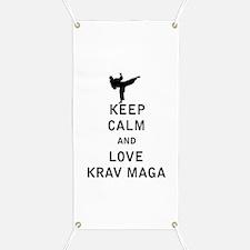 Keep Calm and Love Krav Maga Banner