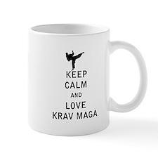 Keep Calm and Love Krav Maga Mugs