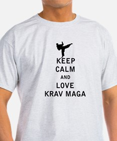 Keep Calm and Love Krav Maga T-Shirt