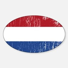 Vintage Holland Oval Decal
