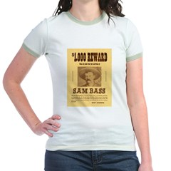 Wanted Sam Bass T