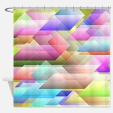 Blurred vision Shower Curtain