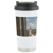 Seafront with historic  Travel Coffee Mug