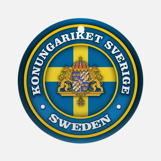 Swedish Medallion Ornament (Round)