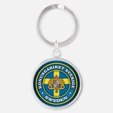 Swedish Medallion Keychains