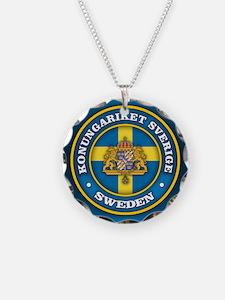 Swedish Medallion Necklace