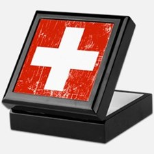 Vintage Switzerland Keepsake Box