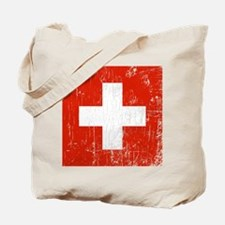 Vintage Switzerland Tote Bag