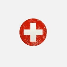 Vintage Switzerland Mini Button