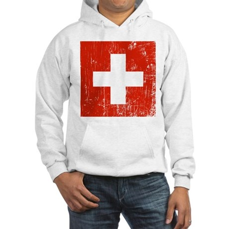 Vintage Switzerland Hooded Sweatshirt