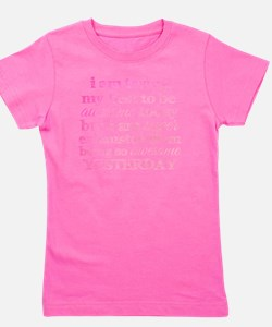 Trying My Best to be Awesome Girl's Tee