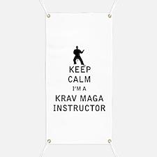 Keep Calm I'm a Krav Maga Instructor Banner