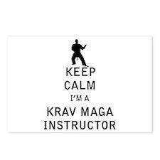 Keep Calm I'm a Krav Maga Instructor Postcards (Pa