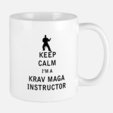 Keep Calm I'm a Krav Maga Instructor Mugs