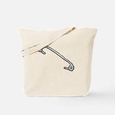 Sicherheitsnadel Tote Bag
