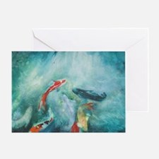 Koi fish greeting cards card ideas sayings designs for Koi fish quotes
