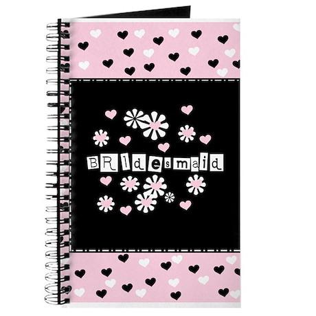 Hearts Bridesmaid Journal