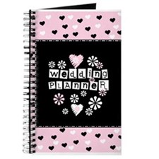 Hearts Wedding Planner Journal