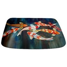 Koi Fish Cool Bathmat