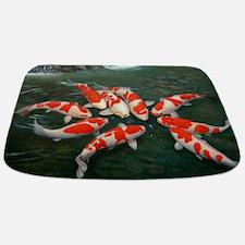 Koi Fish Cool Bathmat