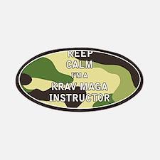 Keep Calm I'm a Krav Maga Instructor Patches
