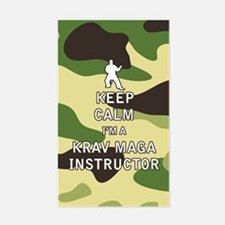Keep Calm I'm a Krav Maga Instructor Decal