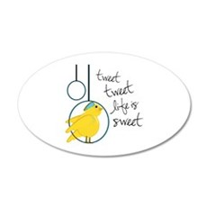 Life is Sweet Wall Decal