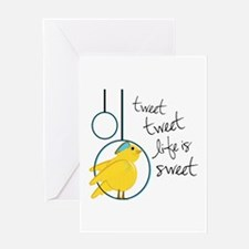 Life is Sweet Greeting Cards