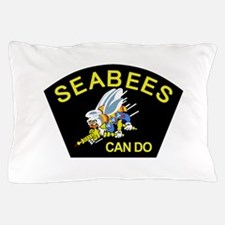 Funny Seabees Pillow Case