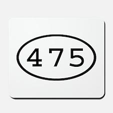 475 Oval Mousepad