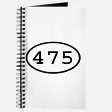 475 Oval Journal