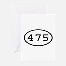 475 Oval Greeting Cards (Pk of 10)