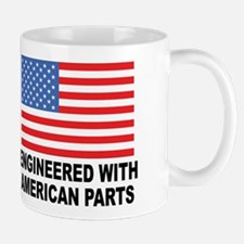 Engineered With American Parts Mug