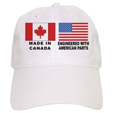 Engineered With American Parts Baseball Cap
