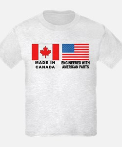 Engineered With American Parts T-Shirt