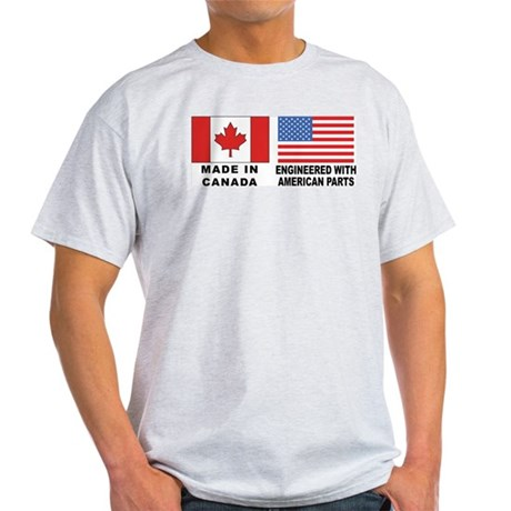 Engineered With American Parts Light T-Shirt
