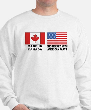 Engineered With American Parts Sweater