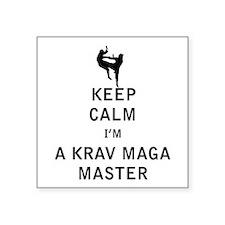 Keep Calm I'm a Krav Maga Master Sticker