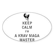 Keep Calm I'm a Krav Maga Master Decal