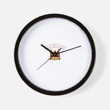 Hawaii Coat of Arms Wall Clock