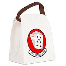 Cute Air force falcons Canvas Lunch Bag