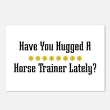 Hugged Horse Trainer Postcards (Package of 8)