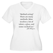 method_acting Plus Size T-Shirt