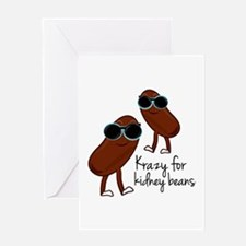 Kidney Beans Greeting Cards